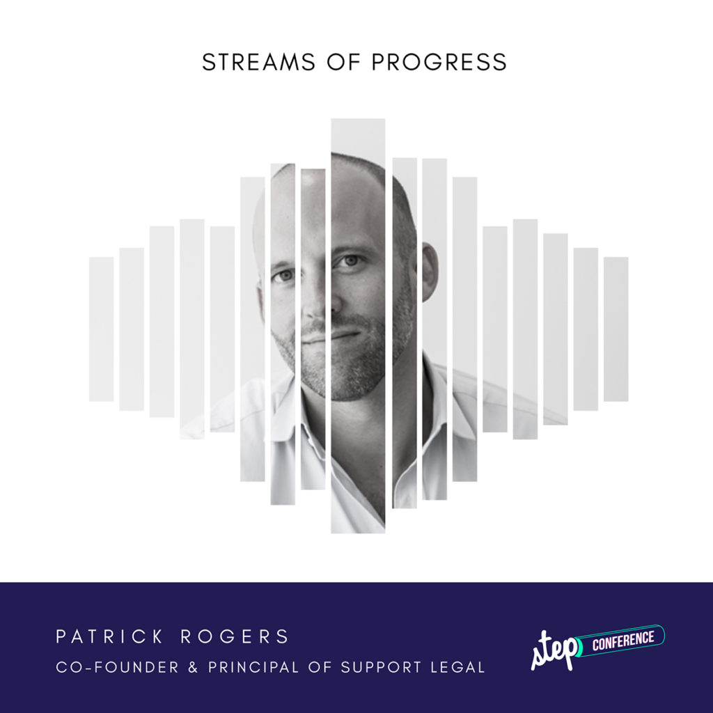 Patrick Rogers, Support Legal Step 2018