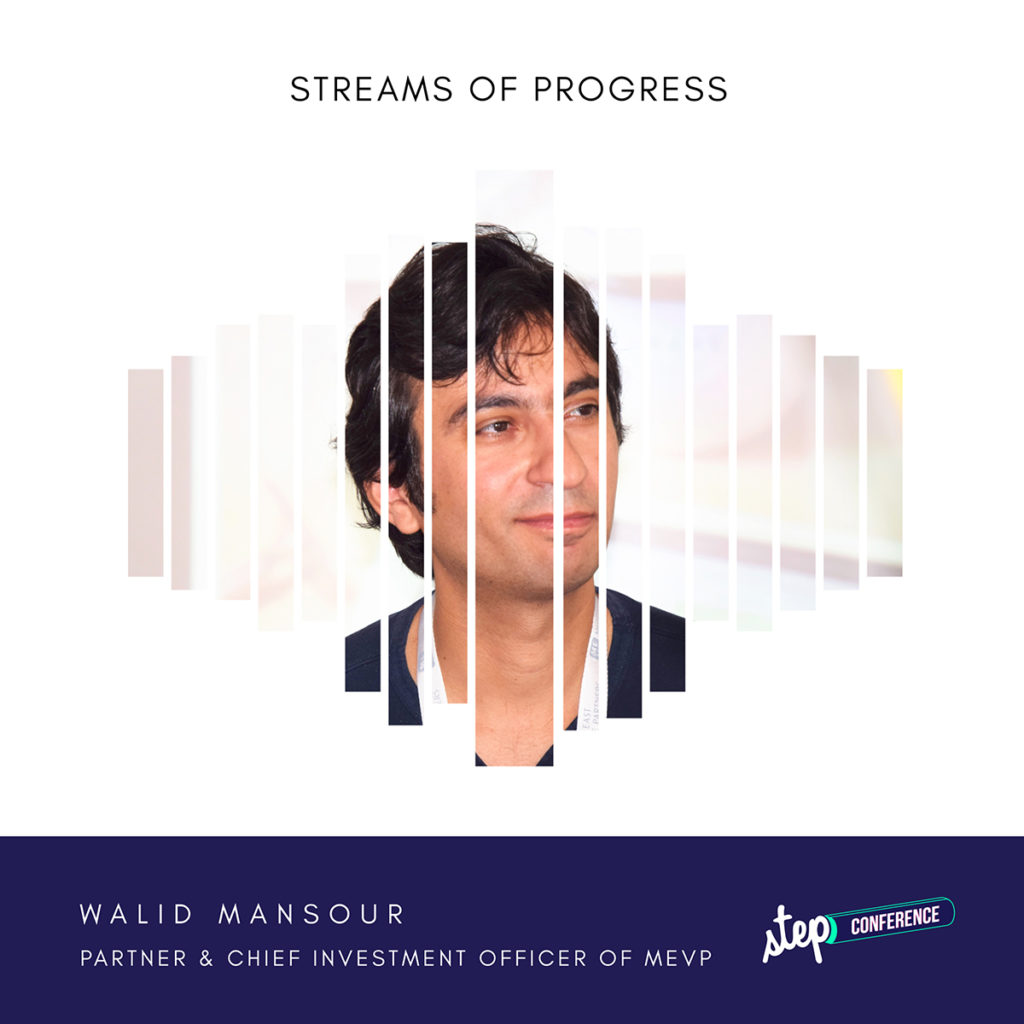 Walid Mansour at Step 2018 MEVP